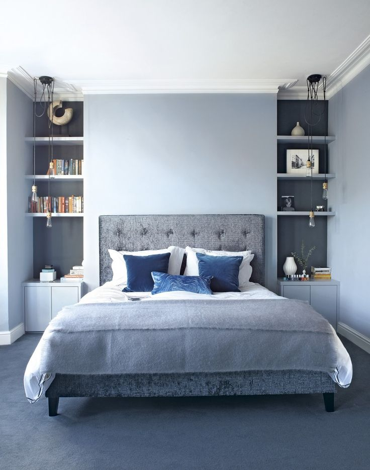 blue-bedroom Melbourne Interior Architect