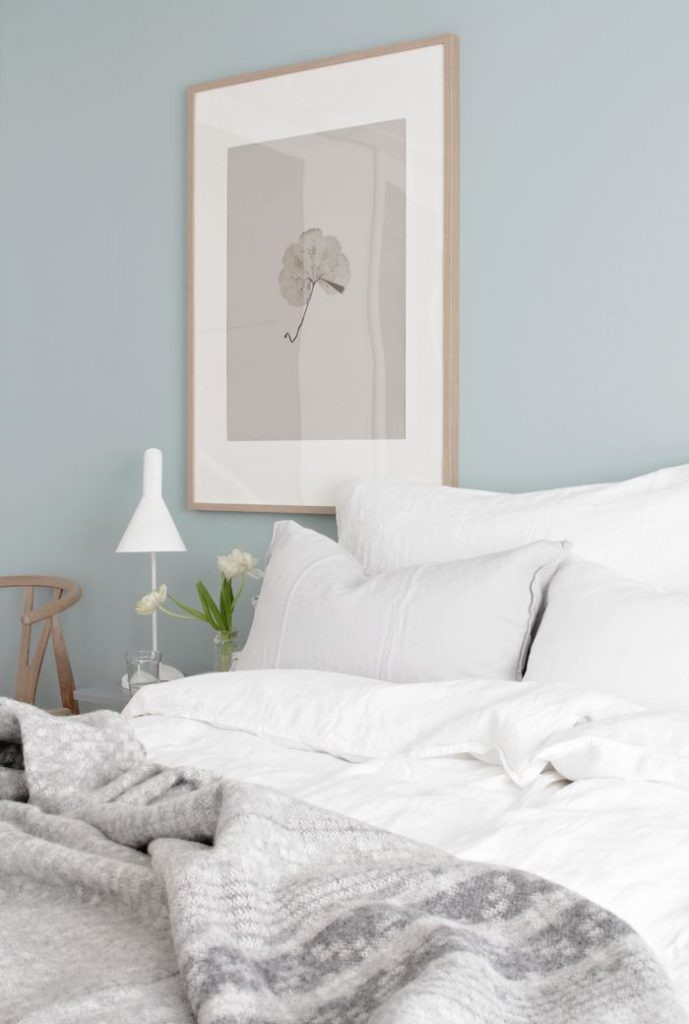 calm-blue-bedroom - Melbourne Interiors Specialist